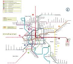 Metro Line Map by Go For New Orange Metro Line In Bangkok