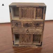 Handmade Living Room Furniture Handmade Antique Wooden Cabinet Living Room Ornament New Home Mini