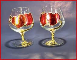 decorazioni bicchieri piantavigna di verona lavorazione artistica vetro