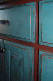 backsplash distressed turquoise kitchen cabinets best turquoise