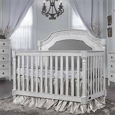 Antique White Convertible Crib Evolur Julienne 5 In 1 Convertible Crib In Antique Gray Mist 837 Am