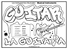 digame con colores spanish to english free coloring pages