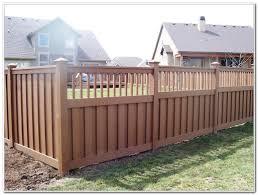 privacy fence ideas for decks decks home decorating ideas