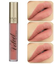 Makeup Mua mua luxe makeup velvet lip lacquer matte lip gloss liquid lipstick