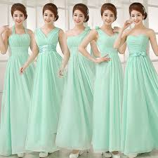 mint green bridesmaid dress mint green bridesmaid dresses yuman dakren
