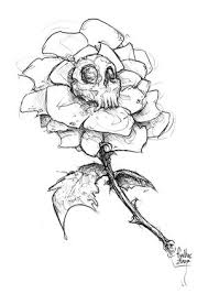 the 25 best skull rose tattoos ideas on pinterest skull