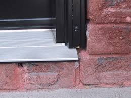 Thresholds For Exterior Doors Homeofficedecoration Exterior Door Threshold Installation