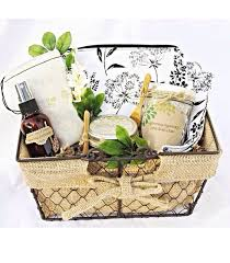 relaxation gift basket anniversay gifts spa gift set stress relief new gift