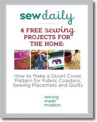 Duvet Sewing Pattern 4 Free Sewing Projects For The Home Sew Daily