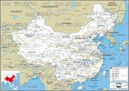 China Map Cities by Geoatlas Countries China Map City Illustrator Fully
