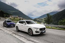 maserati levante red real grand touring italy to england in a maserati levante motor