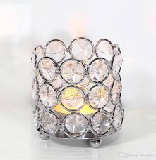 crystal beaded bling votive candle holder tealight holder for