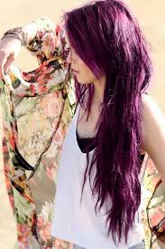 flesh color hair trend 2015 how to color your hair purple without using chemical dyes scene