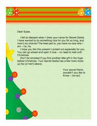 secret santa letter church png