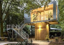 shipping container tree house best design treehouse container