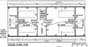 A Frame Home Floor Plans A Frame House Plan 24 Feet High