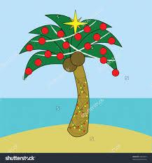 tropical christmas tree clip art clip art decoration