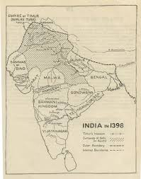 Agra India Map by Historical Maps Of India Online Resources Etihas In