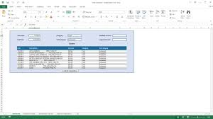Expense Report Programs by Excel Demo Excel Expense Manager Youtube