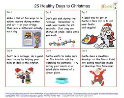 new healthy tips calendars for december and countdown to