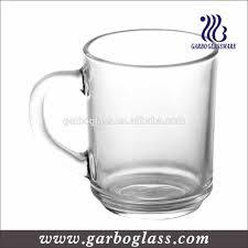 royale glass mug cup clear glass coffee mug with handle buy