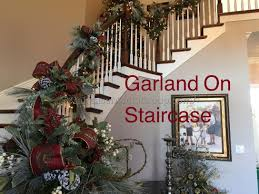 Banister Garland Ideas Staircase Christmas Decorating Ideas Best Staircase Ideas Design