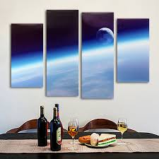 canvas painting for home decoration four cascade home space canvas painting decorative wall picture