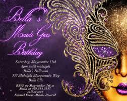 mardi gras masquerade mardi gras invitation mardi gras party invitation masquerade