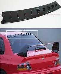 evo 8 spoiler 2001 2007 mitsubishi lancer evo 7 8 9 carbon fiber roof vortex