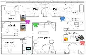 medical clinic floor plans medical centre surgery clinic security system serious security