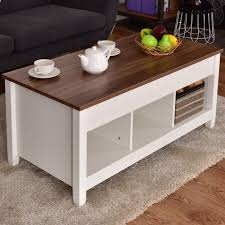 Colorful Coffee Tables Impressive Coffee Table With Lift Top Mechanism And Storage Drawer