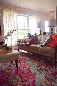 The Family Room Realized  A PMQ For Two And Three Pets With - Family room rug