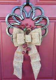 horseshoe wreath horseshoe welcome horseshoe wreath wreaths and etsy