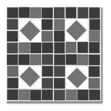black and white tiles vinyl flooring houzz