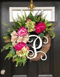 door wreaths summer front door wreath mforum
