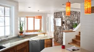 Accent Wall Ideas For Kitchen Stone Kitchen Interior Decoration Ideas Small Design Ideas