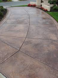 Dyed Concrete Patio by Best 25 Concrete Driveways Ideas On Pinterest Stained Concrete
