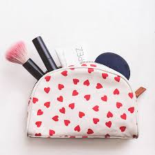 makeup bag hearts make up bag by alphabet bags notonthehighstreet