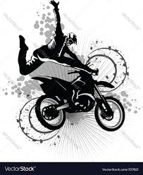 motocross bike images dirt bike royalty free vector image vectorstock
