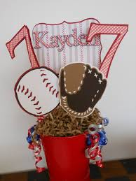 Centerpieces For Birthday by Best 25 Baseball Centerpiece Ideas On Pinterest Baseball Party