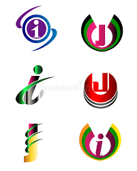 letter j company logo icon template set stock vector image 52086021