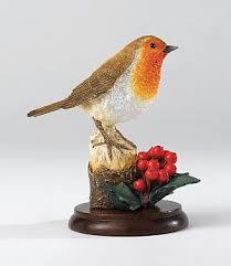 robin ornament robin on winter berries robin ornaments