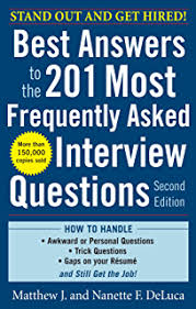 most questions in job interview amazon com job interview questions u0026 answers your guide to