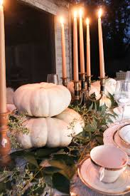 thanksgiving tablescapes ideas neutral thanksgiving tablescape bsht 2016