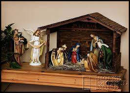 homemade nativity stable christmas archives