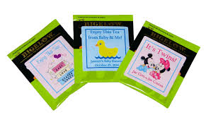 personalized tea bags personalized tea bag labels any occasion shopping mall