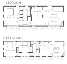 two bedroom cottage house plans one level tiny house trenddi co
