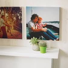 personalised instagram photo canvas print by instant canvas uk
