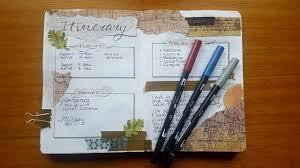 5 beautiful travel journal ideas to create travel charm