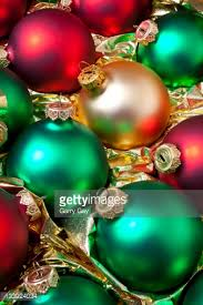 green and gold ornaments stock photo getty images